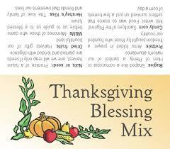 thanksgiving blessing mix gift tag natashainanutshell