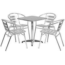 mercury row cornette 5 piece square patio seating group u0026 reviews