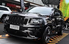 jeep wrangler srt8 the jeep grand srt8 hyun black edition comes out to play