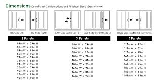 Patio Door Sizes Standard Patio Door Size Unique Sliding Door Widths Size Of
