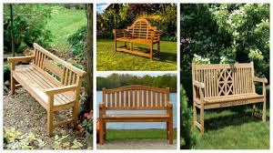 Garden Bench Ideas 41 Teak Garden Benches Ideas For Your Outdoor Godiygo