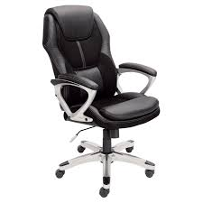Leather Executive Desk Chair Serta At Home Serenity High Back Manager Office Chair Serta At