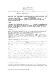 land lease agreement template commercial land lease agreement
