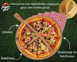amour de cuisine pizza pizza hut rien de mieux