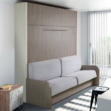 canapé lit armoire armoire lit escamotable avec canapé intégré au meilleur prix space