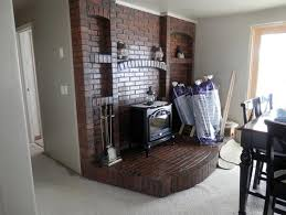 Remove Brick Fireplace by Removing Brick From A Fireplace Hearth