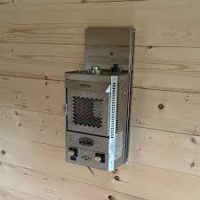 tiny house propane heater derek u0027s tiny house heater dickenson