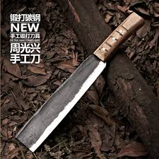 forged kitchen knives free shipping handmade forged chef chop bone knife steel
