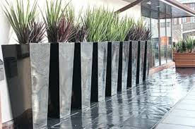 tall outdoor planters and urns interesting idea for tall outdoor
