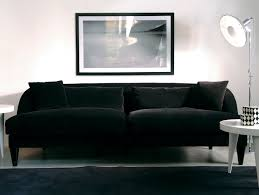 Black Fabric Sectional Sofas Black Fabric Sofa Imonics