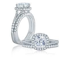 cushion engagement rings split shank open bridge halo cushion engagement ring engagement