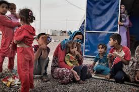 Seeking Dies Of Boredom Iraqi Civilians Flee Tell Of Terror And Boredom Time