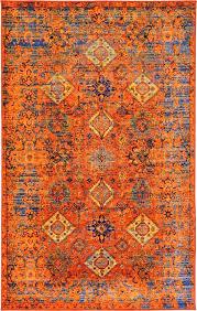 Modern Orange Rugs Modern Orange Area Rug Inside Turquoise And Rugs Pinterest Plans