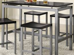 Bar Height Dining Chairs Kitchen Counter Height Kitchen Table And 42 Compact Bar Table