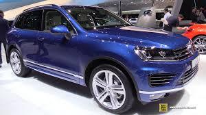volkswagen touareg interior 2015 2015 volkswagen touareg tdi r line exterior and interior