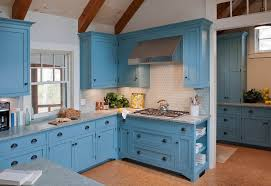 Blue Kitchen Countertops - kitchen blue kitchen countertops spaces contemporary with blue