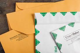 mailing envelopes and labels