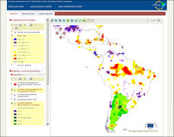 Latin America Map by Map Viewer For Latin America Desertification Land Degradation