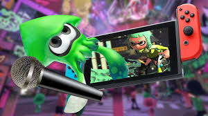 nintendo switch built in voice chat available in splatoon 2 lan