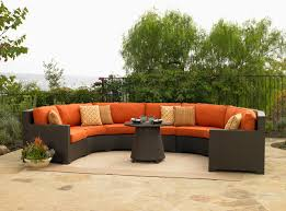 Patio Furniture Couch by Semi Circle Patio Furniture Roselawnlutheran