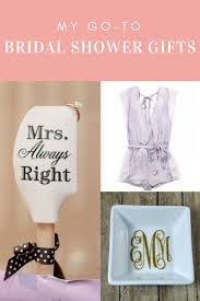 wedding shower presents my 2017 go to bridal shower gifts the urben