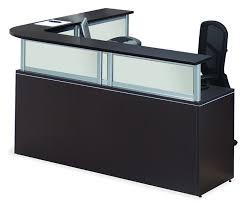 Napoli Reception Desk Stylish L Shaped Reception Desk Counter Stainless Steel Reception