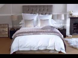 All White Bed Diy All White Bedroom Design Decorating Ideas Youtube