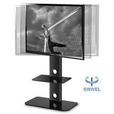 50 inch tv stand with mount height adjustable floor tv stand with universal swivel bracket