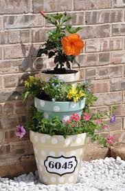 a tower of flowers in the garden 20 creative ideas to inspire