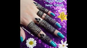 diy henna designs how to apply easy fingers mehndi designs for