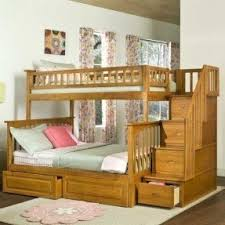 Wooden Loft Bed Diy by Top Bunk Bed With Desk Underneath Foter