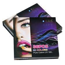pictures of packing gel ea uv painting gel color arts nails cover gel 36 colors packing set