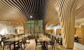 unique design banq restaurant interior unique design ceiling restaurant by