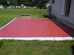 Backyard Concrete Patio Ideas by 43 Concrete Patio Paint Patio Paint Ideas To Beautify Your Lovely