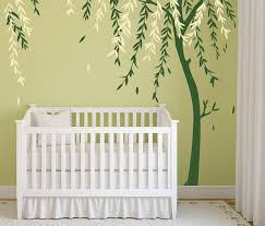 Tree Wall Decor For Nursery Stunning Decorating Nursery Walls Gallery Wall Design