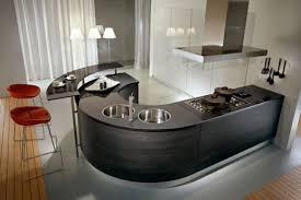 Curved Kitchen Designs The Best Ultra Modern Kitchen Design And Decoration Orchidlagoon Com