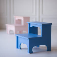 bed step stool reserved for lauren custom 4step stair upolstered