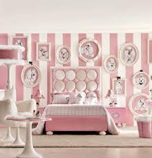 Bedroom For Girls Hello Kitty Pink Wooden 3 Front Door Cupboard Near Dressing Table Rectangular
