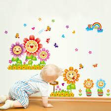 online get cheap sunflower sticker kindergarten aliexpress com