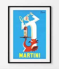martini and rossi poster vintage poster martini risenn