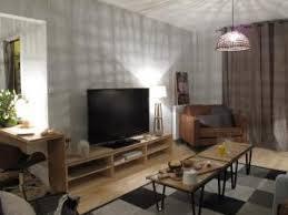 meuble tv avec bureau créer un meuble tv et bureau avec un plan de travail en bambou