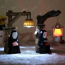 handmade street lamp fairy resin crafts spirited away nightlight