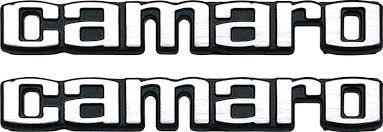 camaro logos chevrolet camaro parts emblems and decals interior emblems
