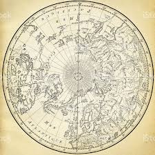 Ancient Map Ancient Map Of The World On Old Paper Stock Vector Art 177124283