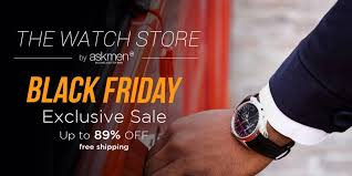 black friday deals on mens watches black friday watch sale askmen
