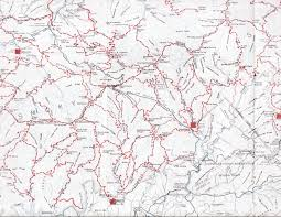 Middle Tennessee Map by Gsmnp Landforms