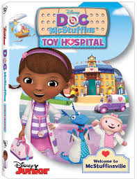 doc mcstuffins toy hospital available on dvd today