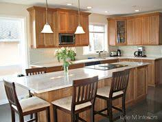 Kitchen Cherry Cabinets Brookhaven Cherry Cabinets In A Natural Finish Kitchen Redo