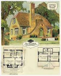 Storybook Cottage House Plans The Mansfield 3 Bedroom Vintage House Plans Dream House