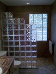 glass block designs for bathrooms glass block shower wall design remodel decor and ideas glass block